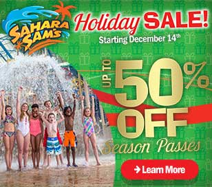 HOLIDAY SALE AT SAHARA SAM'S in Sahara Sam's Oasis