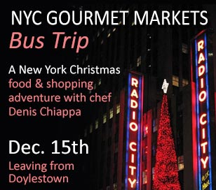 NYC GOURMET MARKETS - CHRISTMAS IN NEW YORK in Conquering Cuisine