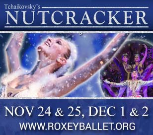 ROXEY BALLET'S 23RD ANNUAL HOLIDAY CLASSIC NUTCRACKER in The College of New Jersey Kendall Main Stage Theater