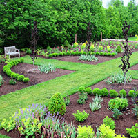 Linden Hill Gardens is a horticultural destination and retail nursery specializing in new, unusual, and rare plants on a scenic Bucks County farmstead. The nursery has extensive display beds including a deer-resistant garden, cottage gardens, a long border, and courtyard plantings. In addition, themed plant events are held on weekends throughout the summer season.