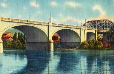 Bethlehem Hill Bridge in the Lehigh Valley, PA